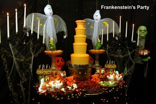 Halloween chocolate fountain rental rentals