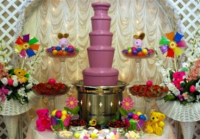 Easter Chocolate Fountains