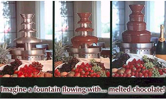 Chocolate Fountain information Chocolate Fountains info