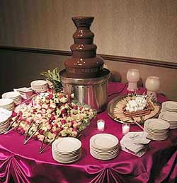 Chocolate Fountain Dessert Buffets