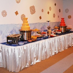 cheese chocolate fountain rental