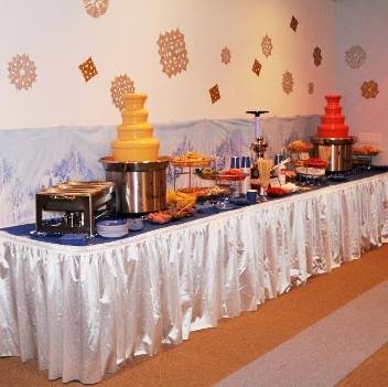 Chocolate fountain rentals for Ask.com Christmas Party