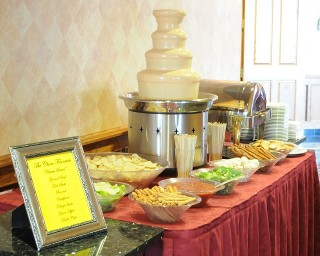 Cheese Fountain