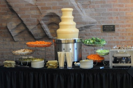 cheese fountain rental nacho cheese fondue